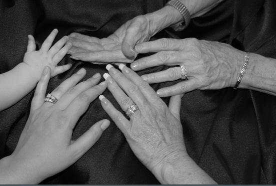 Grandma's Hands - Photo by Pamela McFarland Walsh