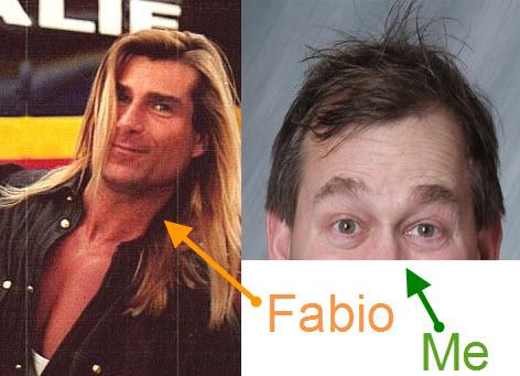 Fabio, Mark Madere, St. Baldrick's