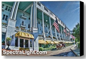 Grand Hotel at Mackinac Island by Mark Madere of SpectraLight Photography of North Ridgeville