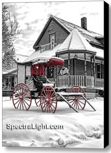 Red Buggy at Grand Pacific Junction in Olmsted Falls by Mark Madere of SpectraLight Photography