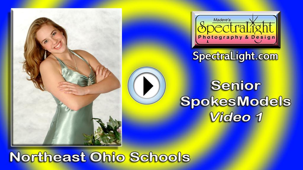 High school senior SpokesModel photos created in the Cleveland area.