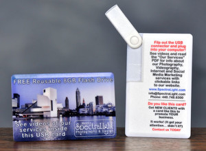 USB Thumbdrive Business Card