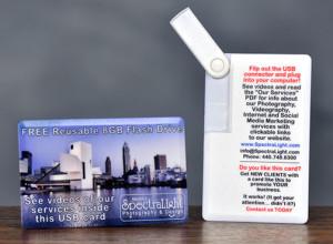 USB Thumbdrive Business Card
